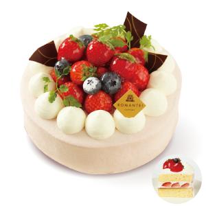 苺のスペシャルショートケーキ